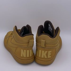 Nike Shoes - Nike court Borough Mid GS wheat brown